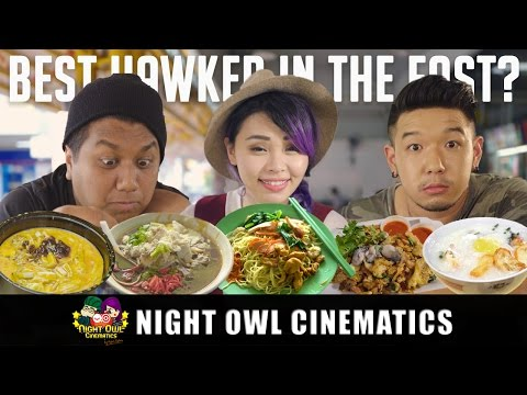 Food King Singapore: Best Hawker Food In The East?!