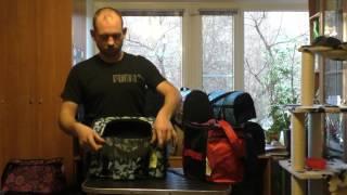 Рюкзак переноска для собак М 18