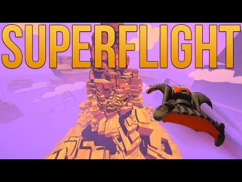 Superflight - Wingsuit Flying Simulator - Falling With Style! - Superflight Gameplay