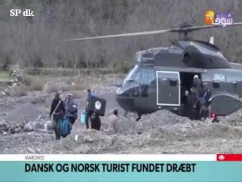 Marokko Dansk og Norsk turist fundet dræt