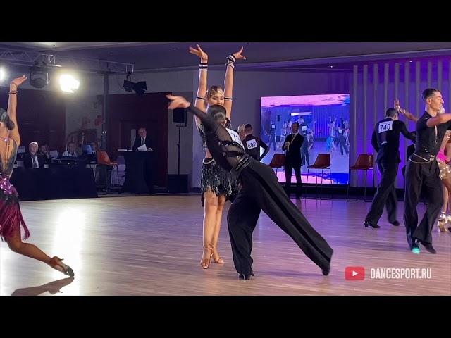Kirill Kurbatov - Alexandra Revel-Muroz RUS, Rumba / DanceSport Cup, Benidorm