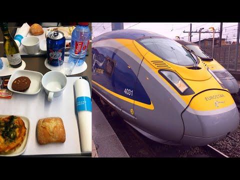 Berlin - London by High-Speed Train in First Class (Eurostar)