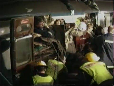 Fire   London Fire Brigade 1991 part 6 - cannon street rail crash
