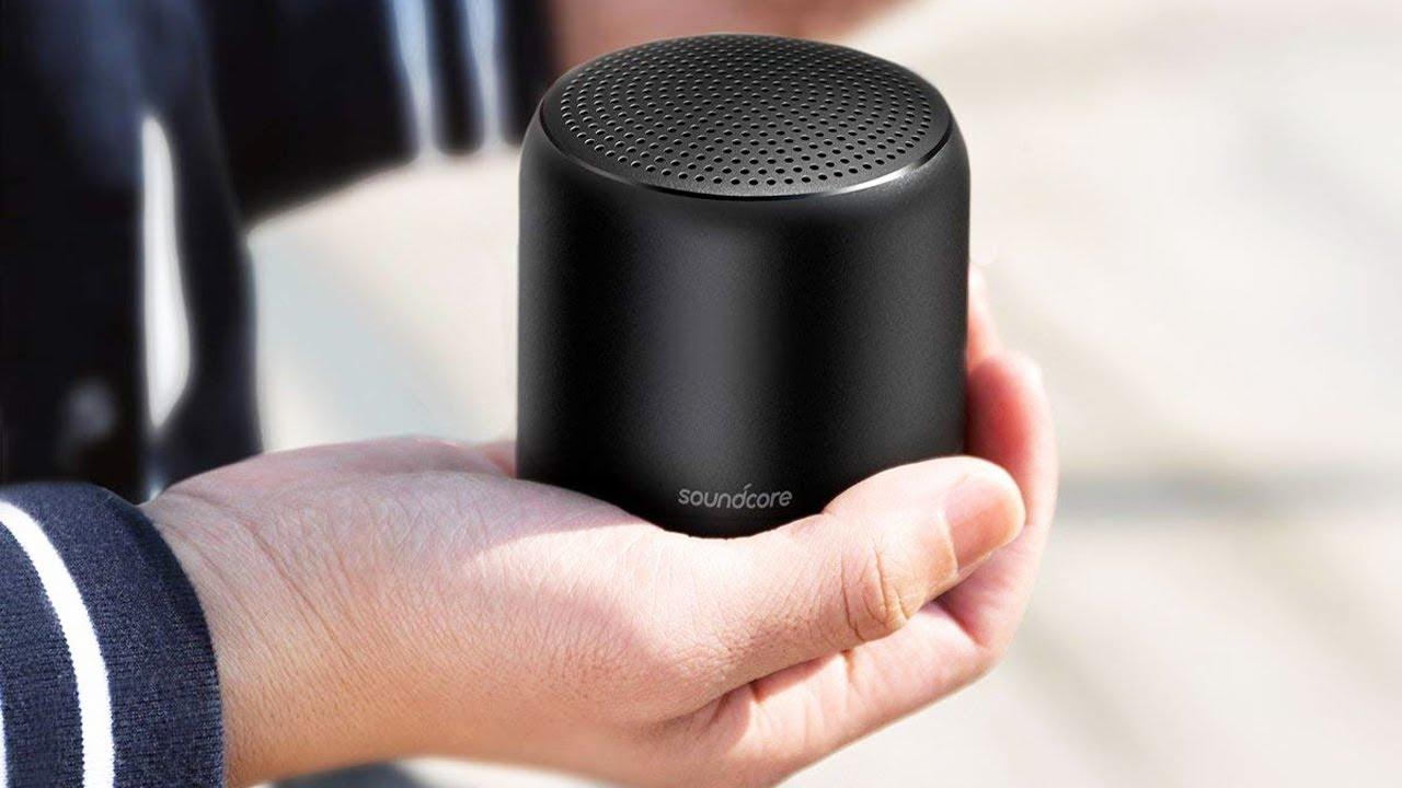 5 Best Mini Wireless Speakers Top Portable Bluetooth Speakers In 2019 Youtube