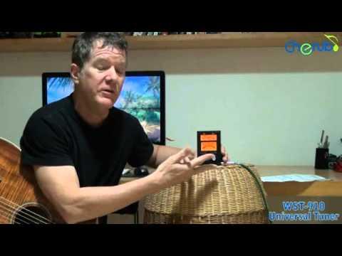 Afinador cherub wst-523 obradec youtube.