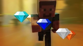 Steve Gets Super Sonic Powers! | Minecraft Stop Motion Animation (4k)