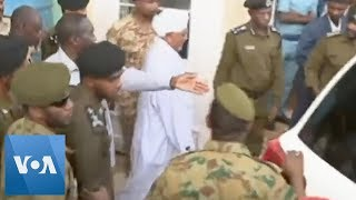 Former Sudan President Omar al-Bashir Makes First Public Appearance