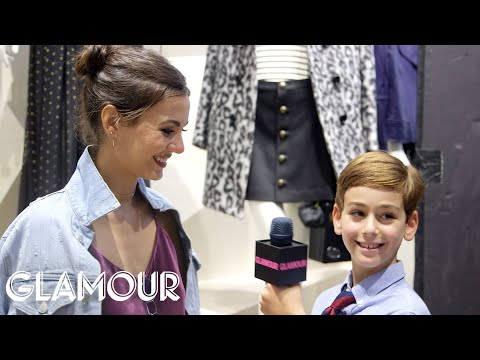 A Fifth Grader Goes to New York Fashion Week | Glamour