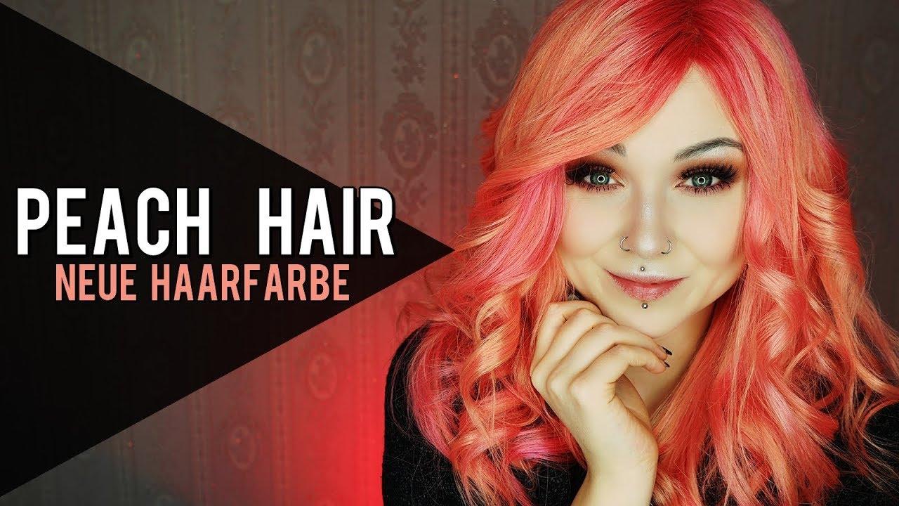 Peach Haarfarbe