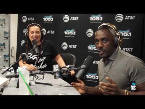 "Idris Elba Challenges DJ Ty Boogie In The ""Instrumental Challenge"""