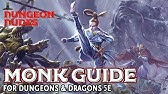 D&D 5e Monk Class Guide ~ You Are Already Dead - YouTube