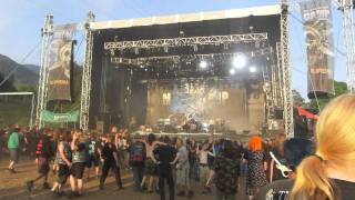 Baby on a wall of death ! Suicidal Angels - Metalcamp
