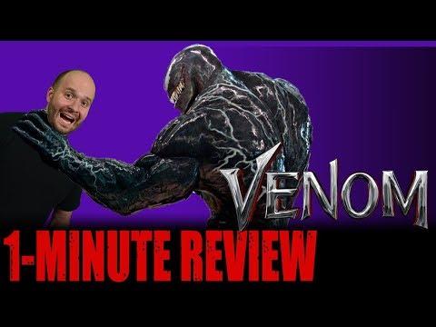 venom-(2018)---one-minute-movie-review