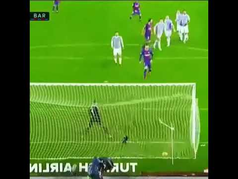 Messi scored a brilliant Free kick goal