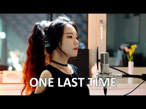 ONE HOUR REPLAY Me Singing - One Last Time by Ariana Grande - J.Fla cover