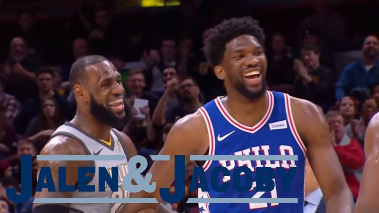 6f1c0c61c096 Is LeBron James adding fuel to the Philadelphia 76ers trade rumors ...