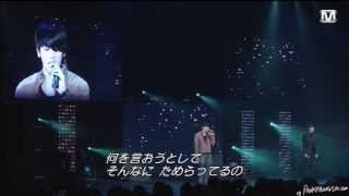 2012/02 The 1st Empire of ZE:A 2012 in japan - 안녕이라고 말하지마(hyungsik&kwanghee)
