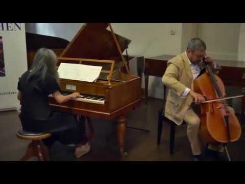 Beethoven Cello sonata No.4 in C major Op.102 - Leonid Gorokhov - cello & Megumi Tanno - pianoforte