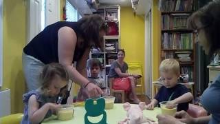 Занятие с двухлетними детьми. Развитие речи. Июль 2016.