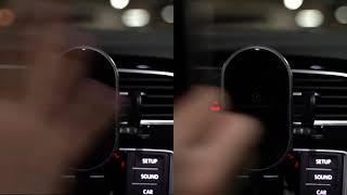 FOD센서 차량용 휴대폰 무선충전 거치대 (영상제작 -…