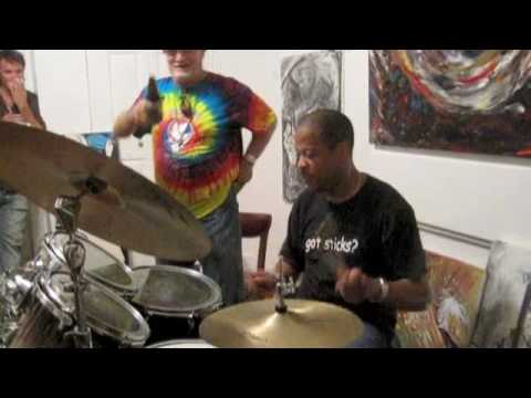 Willie Green and Billy Kreutzman Jazz Fest 2010 at Frenchy