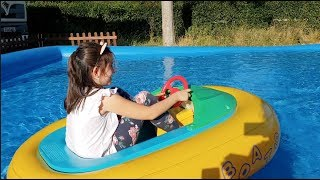 Ride on Boat Fun for Kids