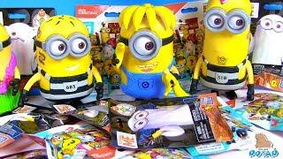 Смешные миньоны + Сюрпризы! Minions SURPRISE Blind Bags Видео для детей! My Toys Potap