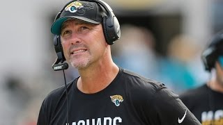 Jacksonville Jaguars fire Head Coach Gus Bradley! Should they also move on from Blake Bortles??