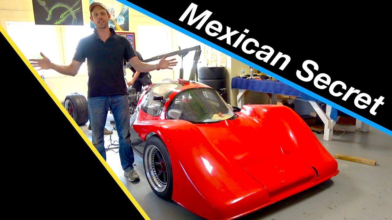 Mexican carbon fiber race car is a secret SPEED MACHINE!