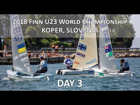 Highlights from Day 3 at the U23 Finn World Championship in Koper, Slovenia