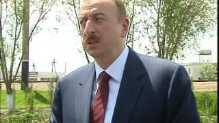 İlham Əliyevin Saatlı rayon ictimaiyyətinin nümayəndələri ilə görüş zamanı nitqi