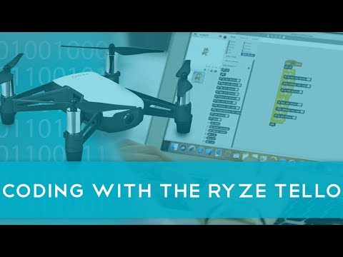 How to connect the Tello drone to Scratch coding software