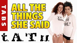 Download t.A.T.u – All the things she said [Тату – Я сошла с ума] (fingerstyle guitar cover) Mp3 and Videos