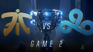 FNC vs C9 | Semifinal Game 2 | World Championship | Fnatic vs Cloud9 (2018)