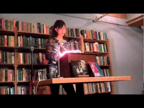 10-23-11 - Martine Bellen at Elliott Bay Books