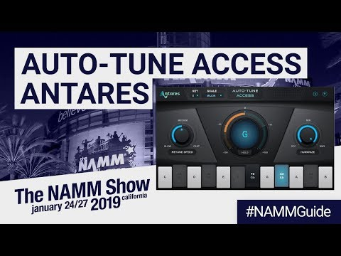 Auto-Tune Access by Antares | NAMM Show 2019