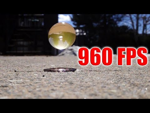 Sony RX0 Ii - Super Slow Motion 960 FPS Vs ORBEEZ