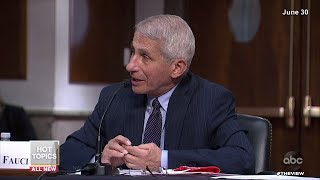 Fauci Says U.S. Going In Wrong Direction | The View