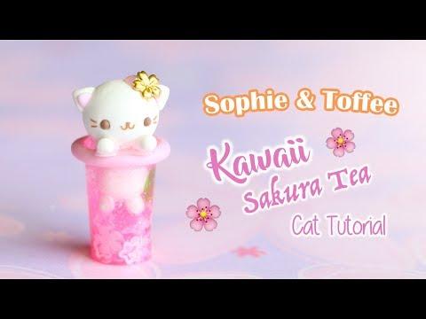 Kawaii Sakura Tea Cat│Sophie & Toffee Subscription Box April 2019