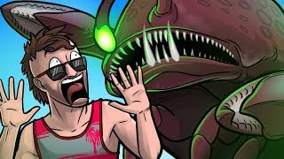 The Giant Lobster Man! - CoD Zombies Funny Moments (Attack of The Radioactive Thing)