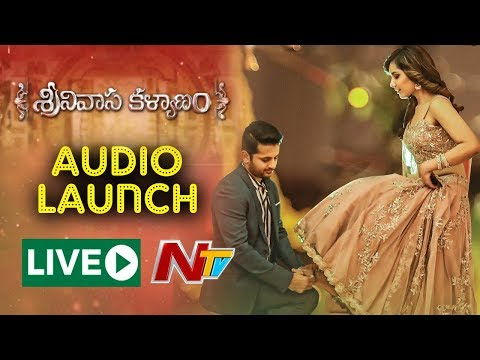 Srinivasa Kalyanam Audio Launch Live |...