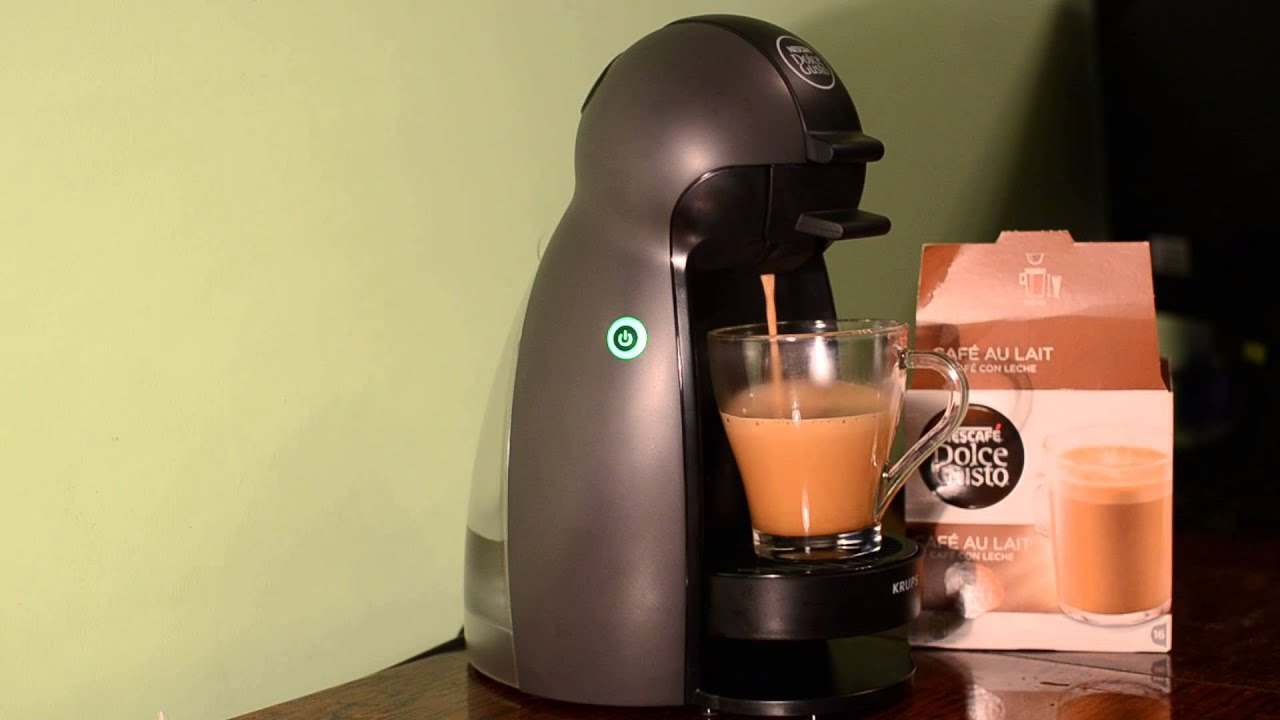 nescafe dolce gusto cafe au lait youtube. Black Bedroom Furniture Sets. Home Design Ideas