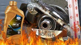 Eurol Syntence FS 0W30 Jak skutecznie olej chroni silnik? 100°C