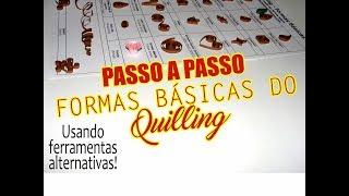 O que é Quilling? PAP Formas básicas e ferramentas alternativas- Scrapbook by Tamy