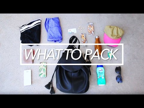What To Pack For Orientation Week // RU Student Life