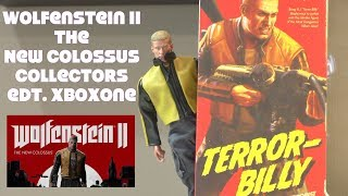 Wolfenstein II The New Colossus XBOX ONE Collectors Edition unboxing