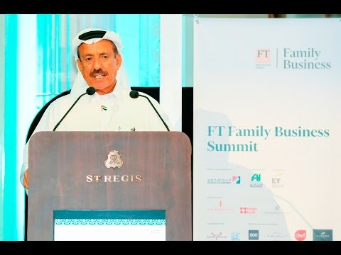 Khalaf Al Habtoor's keynote speech at the FT Family Business Summit