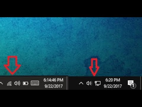 How to Fix Wi-Fi Icon Missing In Windows Laptop Taskbar (Windows 10/8.1/7)