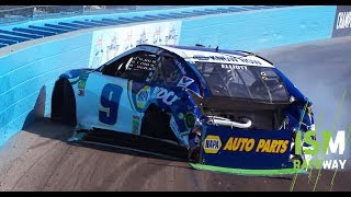 Chase Elliott crashes as Championship 4 hopes end at Phoenix | NASCAR Playoffs
