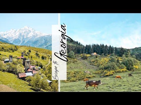 🇬🇪格魯吉亞 EP.6 | ⛰最後一站來到高加索秘境:梅斯蒂亞 | 徒步四天走進歐洲最高村落👣